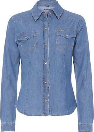 Wrangler Camisa Jeans Urbano Wrangler - Azul