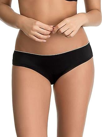 Ultimo Womens Soft Comfort Brazilian Knicker, Black, 8 (Size: 08)