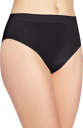 Wacoal Womens B-Smooth Hi-Cut Panty, Black, X-Large