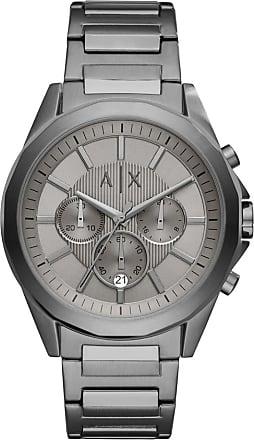 A|X Armani Exchange Relógio Quartz Drexler - Homem - Cinza - Único IT