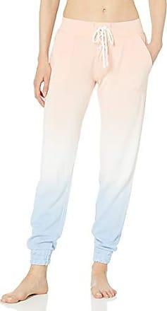 Pink M PJ Salvage Womens Walk the Line Stripe Pant