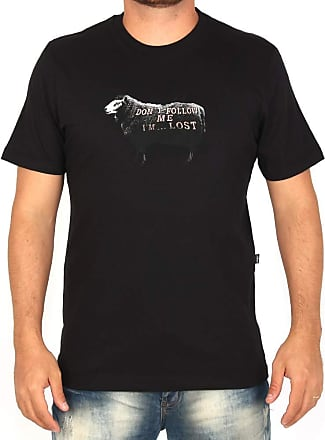 Lost Camiseta Lost Don´t Follow Me Sheep - Preta - GG