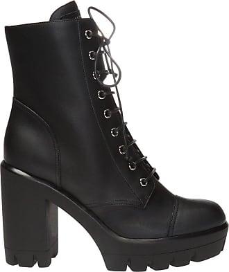Giuseppe Zanotti Leather Heeled Ankle Boots Womens Black