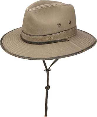 c8a16a597f4 Stetson Tarnell Traveller Cotton Hat by Stetson Sun hats. In high demand
