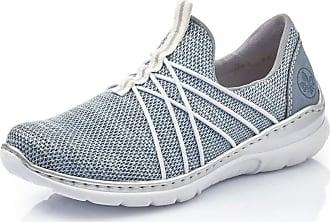 Rieker Women Loafer Flats L32K1, Ladies Slipper,Slip Half Shoe,Slip-on,Leisure Shoe,Open Slip-in,Adria,36 EU / 3,5 UK