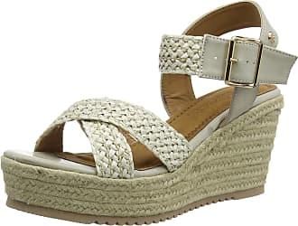 Refresh Womens 69556 Platform Sandals, White (Hielo Hielo), 6 UK