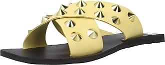 Inuovo Women Sandals and Slippers Women 478003I Yellow 3.5 UK