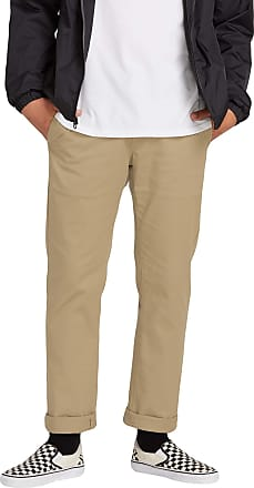 Volcom mensFrickin Modern Fit Stretch Chino Pant Casual Pants - Multicolor - 36W x 30L Khaki