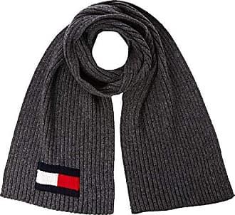 Uomo Taglia Produttore: OS Rosso Tommy Hilfiger Seasonal Stripe Scarf Sciarpa Unica Corporate 901