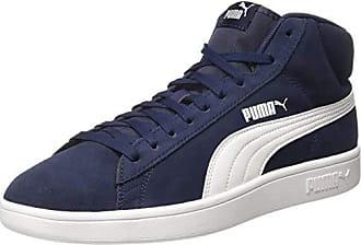 ef8fdf2a07e Puma unisex-volwassene Smash V2 Mid SD hoge sneaker - blauw - 39.5 EU