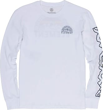 Element Odyssey Long Sleeve T-Shirt in Optic White (X Large)