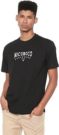 NICOBOCO Camiseta Nicoboco Drop Preta