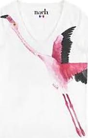 Nach Bijoux White Flamingo T Shirt - medium