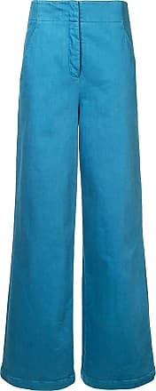 Tibi wide leg trousers - Blue