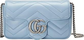 Gucci Mini borsa GG Marmont in pelle matelassé