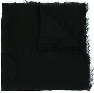 Yohji Yamamoto random dot stole - Black