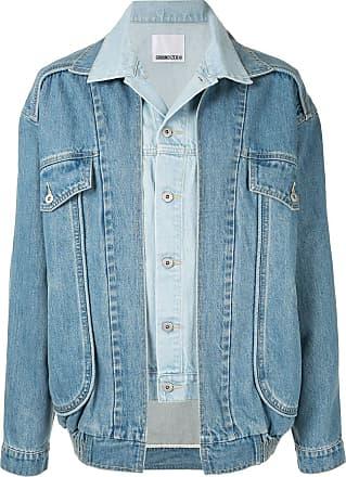 Ground-Zero Jaqueta jeans com sobreposição - Azul
