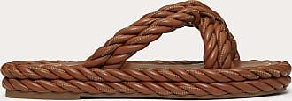 Valentino Garavani Valentino Garavani Sandalo Slider The Rope In Nappa Donna Selleria 100% Pelle Di Agnello 35