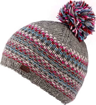 Kusan 100/% Wool Beanie Hat with Detachable Flower Brooch Pin PK1809