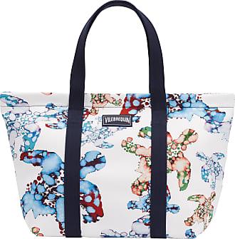 8515f4fb3 Vilebrequin Accessories - Large Beach Bag Watercolor Turtles - BEACH BAG -  BAGSIB - White -