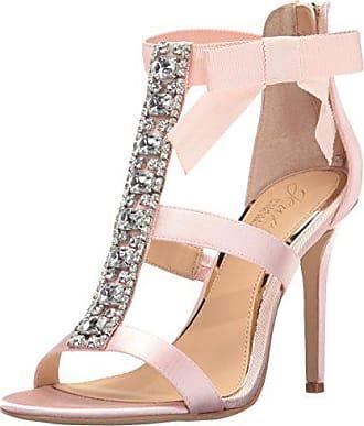Badgley Mischka Jewel Badgley Mischka Womens Henderson Dress Sandal, Pink, 6.5 M US