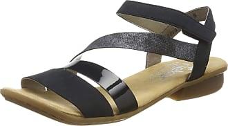 Rieker Womens V0473-14 Closed Toe Sandals, Blau (Pazifik/Marine/Nightblue 14), 36 EU 3.5 UK