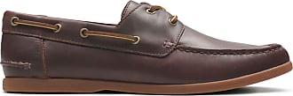 Clarks Mens British Tan Leather Clarks Morven Sail Size 10.5