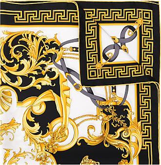 Versace Echarpe com estampa barroca - Branco