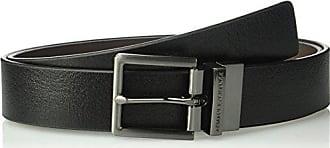 02789c453d80 A X Armani Exchange Armani Exchange Mens Skinny Leather Belt, Black Brown,