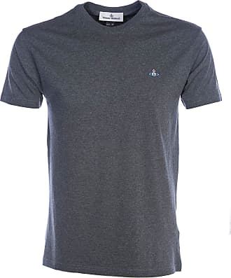Vivienne Westwood Basic T Shirt in Grey Melange