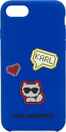 Karl Lagerfeld Capa para iPhone 8 - Azul