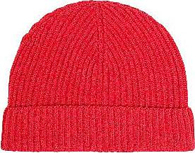 Jennifer Kent Red Merino Wool Hat - Red