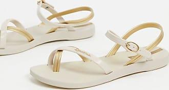 Ipanema Flache Sandalen mit Zehenschlaufe-Cremeweiß