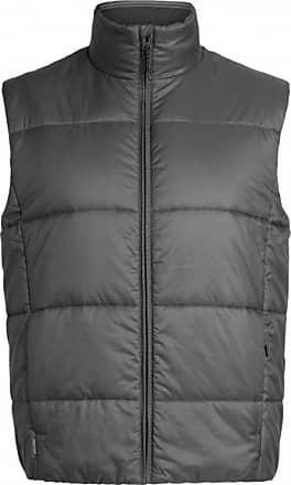Icebreaker Collingwood Vest Gilet in lana Uomo   nero/grigio