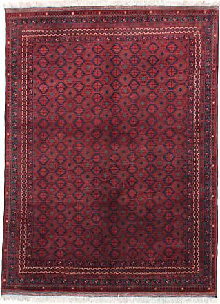 Nain Trading 199x152 Tappeto Orientale Afghan Kunduz Marrone Scuro/Viola (Afghanistan, Lana, Annodato a mano)