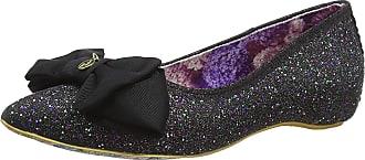 Irregular Choice Womens Mint Slice Closed Toe Ballet Flats, Black (Black B), 3 UK (36 EU)