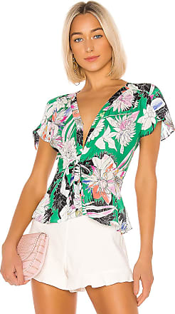 Parker Cedric Blouse in Green