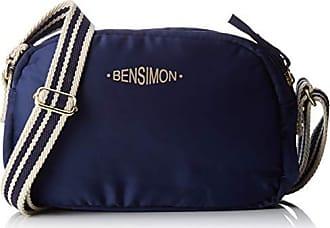 bf97a7d24e Bensimon femme Round Bag Sac bandouliere Bleu (Marine)