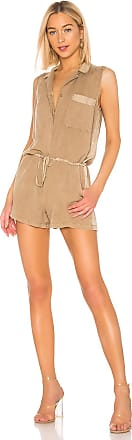 Young Fabulous & Broke Lorren Romper in Tan