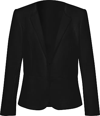 Uta Raasch Blazer in 100% cotton Uta Raasch black