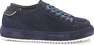 Philippe Model Sneaker Marais L U Veloursleder blau