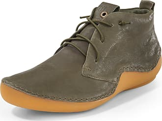 Think Ankle-high lace-up shoes Kapsl Think! green