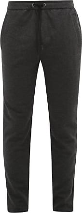 Falke Slim-fit Cotton-blend Track Pants - Mens - Dark Grey