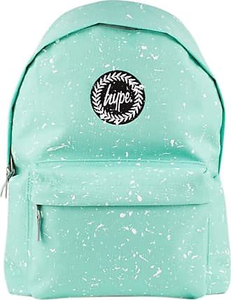 Hype Mint/White Speckle Backpack Rucksack Bag - Ideal School Bags - Rucksack For Boys and Girls