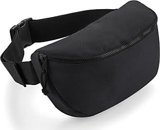 BagBase Bagbase Oversized Belt Bag (One Size) (Black)