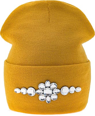 morefaz Fashion Women Winter Beanie Hat Knitted Worm Pom Pom Ski Hats MFAZ Morefaz Ltd (Mustard)