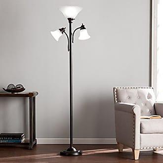 Southern Enterprises Oliver Floor Lamp, Black