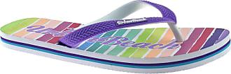 Urban Beach Girls Pool Tropic Dream FW804/5 FLIP Flops Sandals Size UK 10-2 (UK12/EU31, Purple)