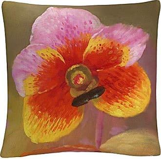 Trademark Fine Art Orange-Pink Orchid Floral Botanical Petals by Masters Fine Art