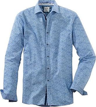 Olymp Level Five Casual Hemd, body fit, Kent, Bleu, XXL
